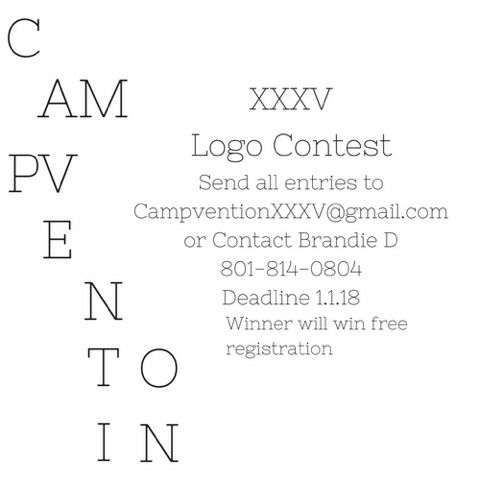 Campvention Logo contest flyer