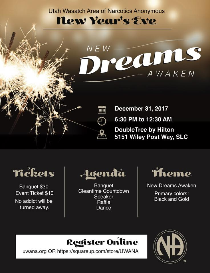 New Years Eve Event flyer