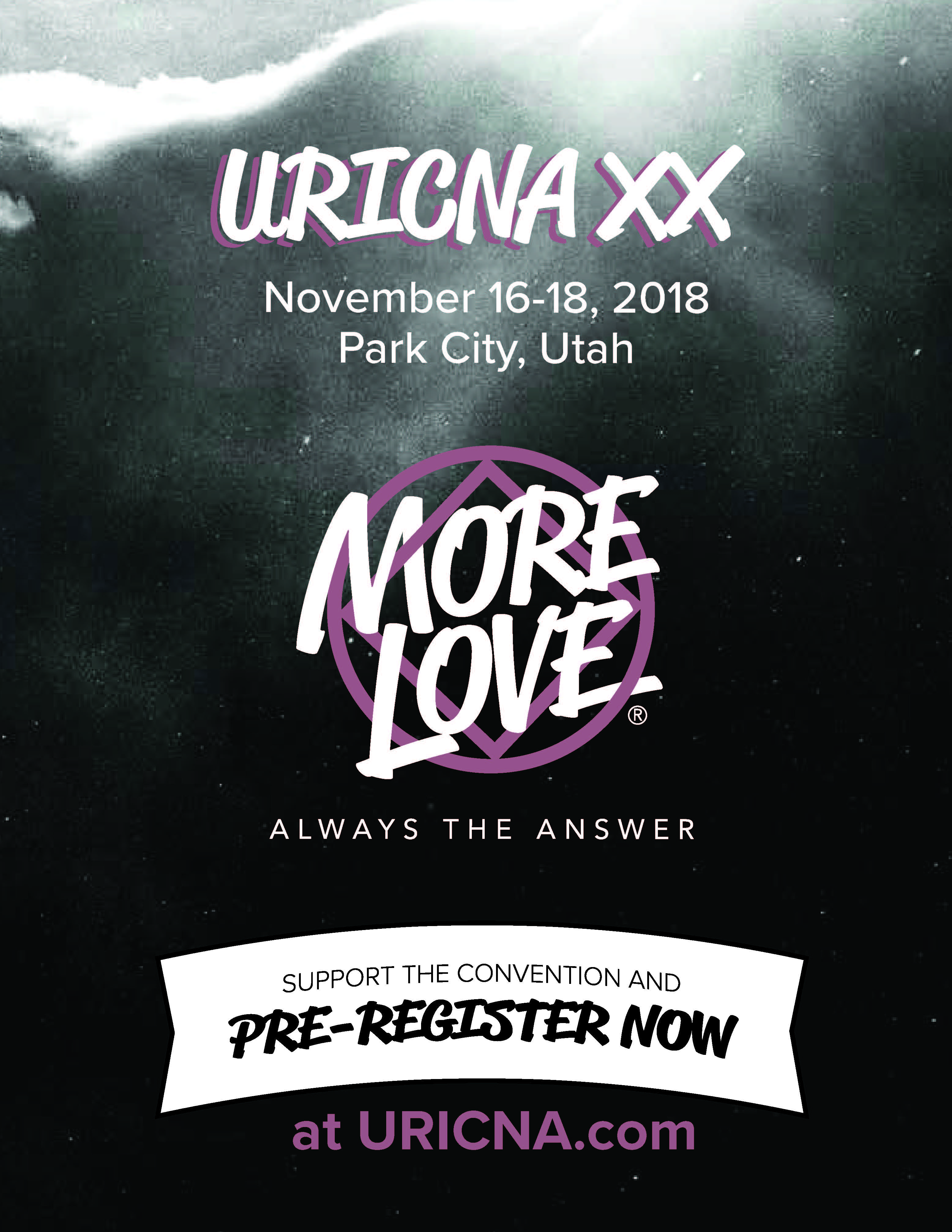 URICNA XX preregistration flyer